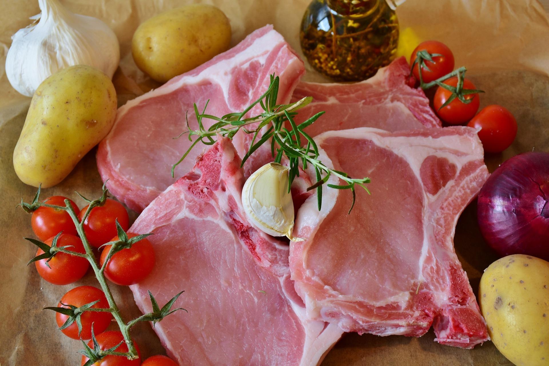 Boucherie de la gare - saint andre de corcy - porc